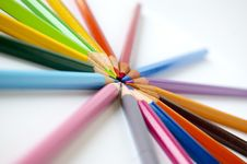 Free Colored Pencils Stock Photography - 14965272