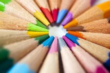 Free Colored Pencils Stock Images - 14965284