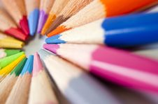 Free Colored Pencils Royalty Free Stock Photo - 14965295