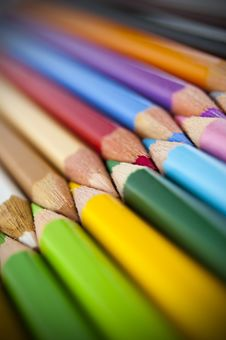 Free Colored Pencils Stock Photo - 14965310