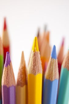 Free Colored Pencils Stock Photography - 14965322