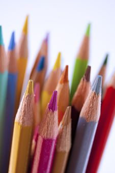 Free Colored Pencils Stock Images - 14965334