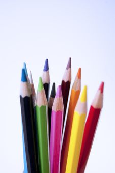 Free Colored Pencils Stock Images - 14965434