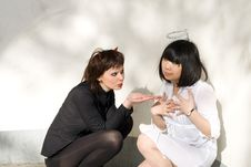 Free Angel And Devil Stock Photos - 14966173