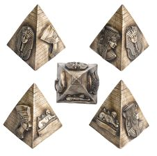 Free Egyptian Pyramid | Isolated Stock Image - 14966351