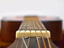 Free Acoustic Guitar Neck Royalty Free Stock Images - 14966959