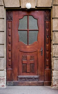 Free Old Door Royalty Free Stock Photography - 14967107