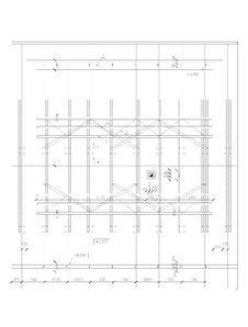 Free Ground Plan Of Truss Stock Image - 14967341