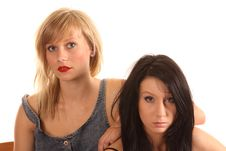 Sexy Teenage Girls Royalty Free Stock Image