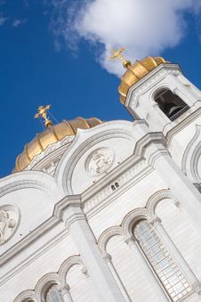 Free Jesus Christ Church In  Moscow, Russia Royalty Free Stock Image - 14969516