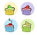 Free Little Fruit Cakes Stock Image - 14970991