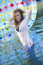 Free Glamour Lady In Swimsuit Royalty Free Stock Photos - 14975048