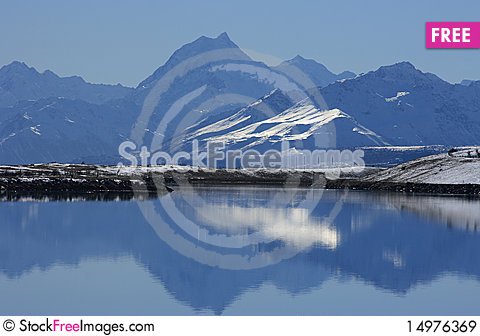 Free Mt Cook Royalty Free Stock Images - 14976369