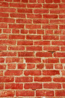 Rustic Brick Wall Royalty Free Stock Photo