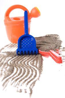 Free Sand Toys Royalty Free Stock Photos - 14970368