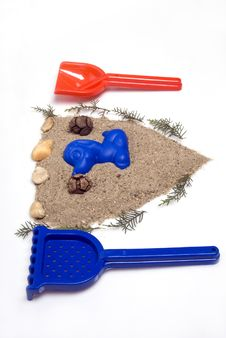 Free Sand Toys Stock Photography - 14970512