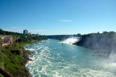 Free Niagara River Royalty Free Stock Photography - 14970587