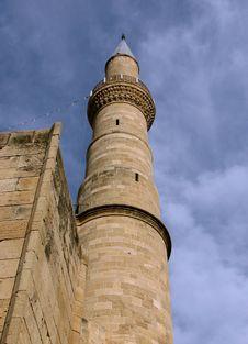 Free Cyprian Sandstone Minaret Stock Image - 14970841
