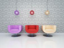 Free Three Chairs Stock Image - 14971061
