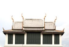Free Thai Temple Roof Stock Images - 14971394