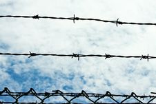 Free Barbed  Wire Stock Image - 14971631