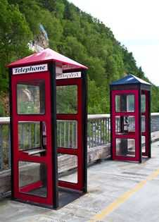 Free Phone Booths Royalty Free Stock Photo - 14971705