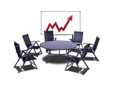 Free Meeting Table Royalty Free Stock Photography - 14972597