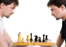 Free Two Men Play A Chess Royalty Free Stock Photography - 14972627