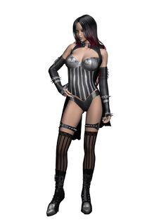 Free Goth Model 3 Stock Photos - 14972823