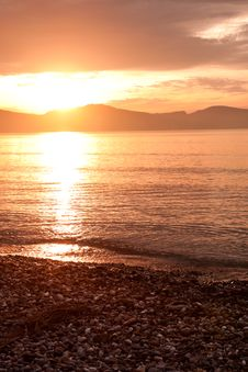 Free Sunrise At Nafplio Stock Image - 14972941