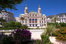 Rear Aspect Of The Monte Carlo Casino Royalty Free Stock Image