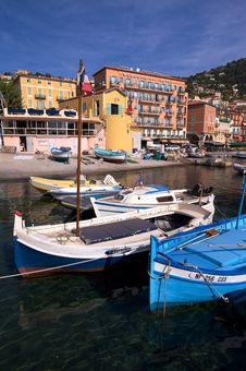 Free Villefranche Harbour In France Stock Photography - 14974792
