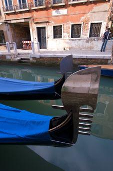 Free Classic Venetian Scene Royalty Free Stock Photos - 14974798