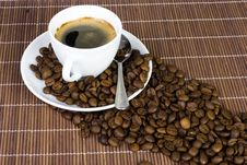 Free Cup Of Coffee Royalty Free Stock Photography - 14975297