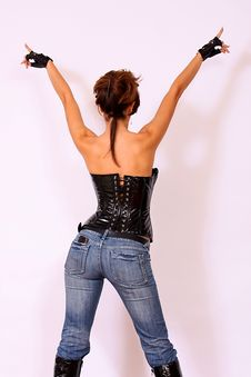 Free Cell Phone In Sexy Back Pocket Stock Photo - 14975410