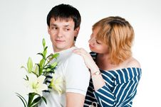 Free Beautiful Young Couple Stock Images - 14976304