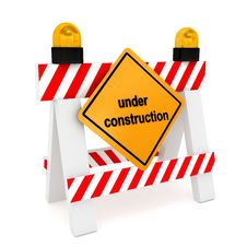 Free Under Construction Concept Over White Stock Image - 14976701