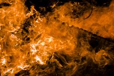 Free Flames Royalty Free Stock Image - 14978776
