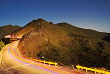 Free Traffic In High Mountains Royalty Free Stock Image - 14978866