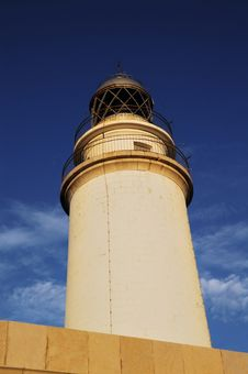 Lighthouse In Mallorca Royalty Free Stock Images