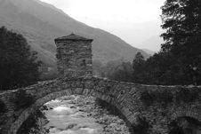 Free Lemie Italy Piedmont Turin The Bridge Royalty Free Stock Images - 14979319