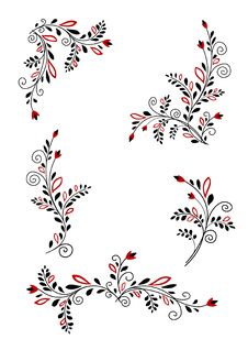Free Floral Elements Royalty Free Stock Images - 14979429