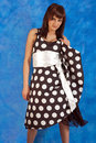 Free Girl In Polka-dot Dress Stock Images - 14984674