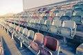 Free Retro Stadium Seats Royalty Free Stock Images - 14984939