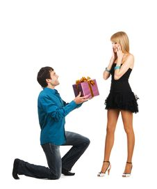 Free Beautiful Young Couple Stock Photography - 14980092