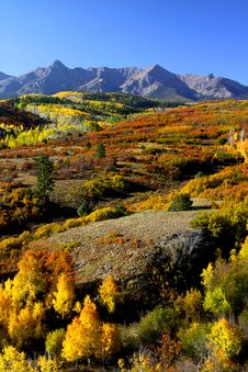 Dallas Divide In Autumn Stock Images