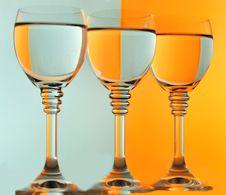Free WINE GLASSES Stock Photography - 14980262