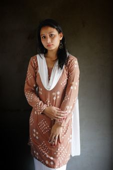 Free Indian Woman Royalty Free Stock Photos - 14980528
