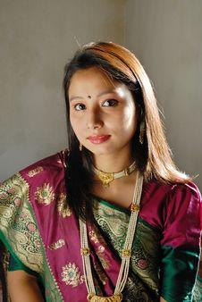 Free Indian Woman Royalty Free Stock Photos - 14980648