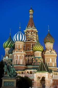 Saint Basil S Cathedral Royalty Free Stock Images